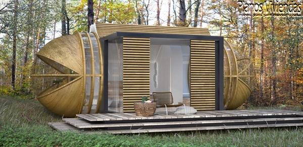 DROP XL de In-tenta es una casa autosostenible que promete mejorar el ecoturismo (7)