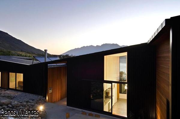Bellos paisajes y modernidad en casa construida por los mismos habitantes (4)