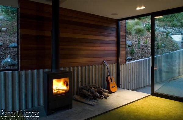 Bellos paisajes y modernidad en casa construida por los mismos habitantes (6)