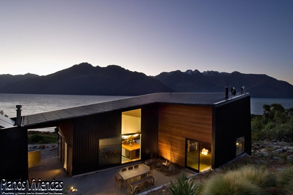 Bellos paisajes y modernidad en casa construida por los mismos habitantes (7)
