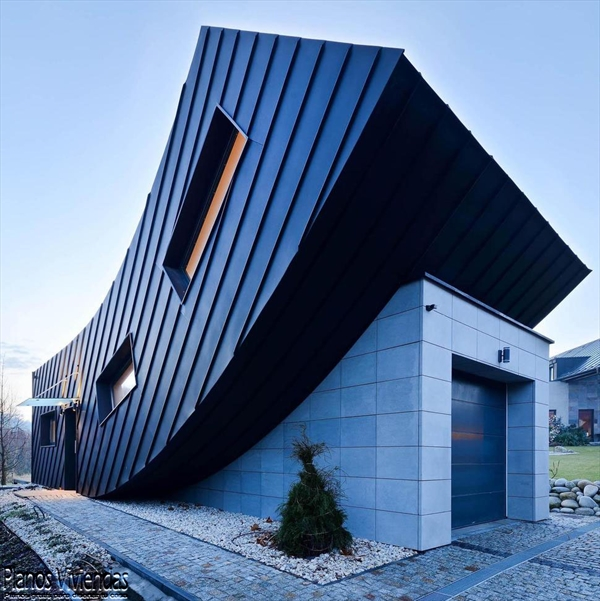 La casa Domo-Dom de Lemanski arquitectos un inolvidable y curioso diseño (1)