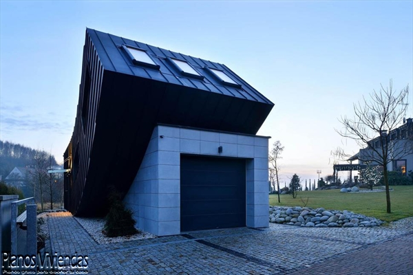 La casa Domo-Dom de Lemanski arquitectos un inolvidable y curioso diseño (3)