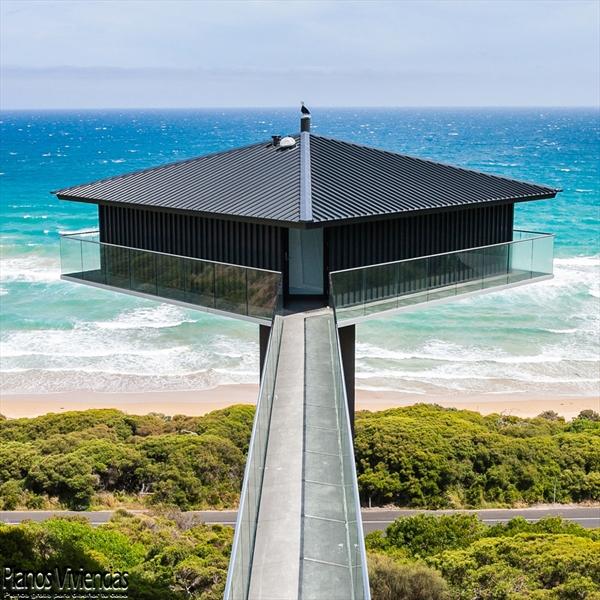 Construcción de casas sobre pilares F2 Architecture (4)