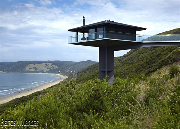 Construcción de casas sobre pilares F2 Architecture (5)