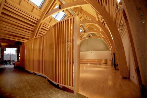 Perfecto ejemplo de arquitectura contemporánea Instituto Cultural cree en Canadá
