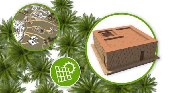 La Bienal Iberoamericana de Arquitectura y Urbanismo premiando el proyecto takatona 2 - Autosuficiencia energética para zonas rurales