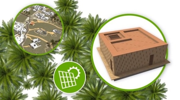 La Bienal Iberoamericana de Arquitectura y Urbanismo premiando el proyector takatona 2 - autosuficiencia energética para zonas rurales