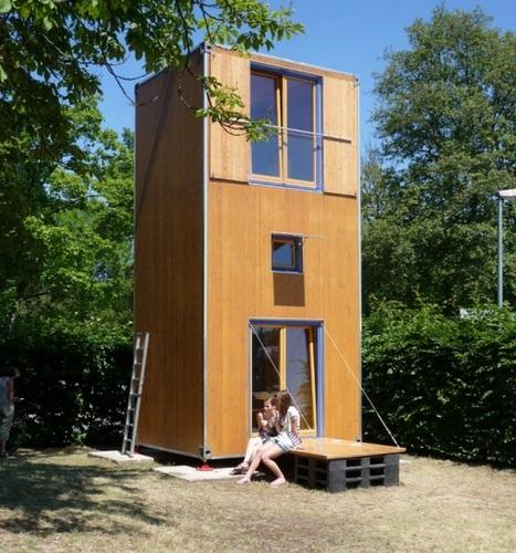 Planos de casa en madera con tres pisos para una persona (1)