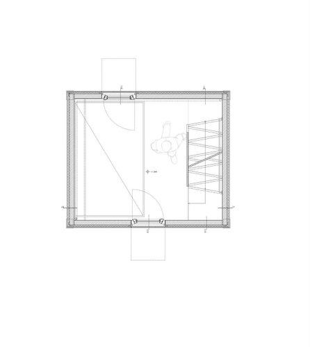 Planos de casa en madera con tres pisos para una persona  (18)