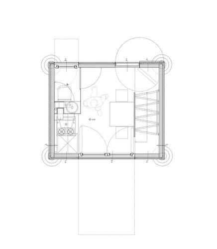Planos de casa en madera con tres pisos para una persona  (19)