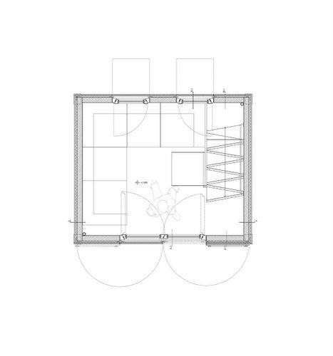 Planos de casa en madera con tres pisos para una persona (20)