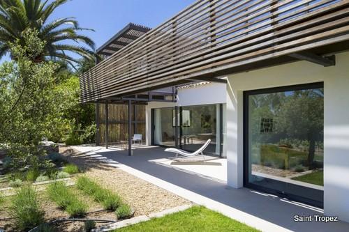Encantadora residencia con parrillas en la fachada - Saint Tropez Francia