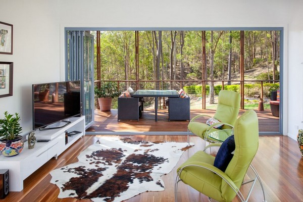 Casa moderna de arbol