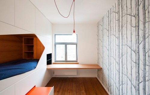 Rediseño ingenioso de habitaciones y restaurauración completa de apartamento  (12)