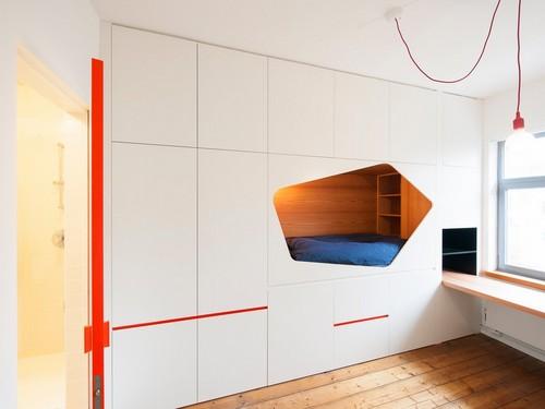 Rediseño ingenioso de habitaciones y restaurauración completa de apartamento  (13)