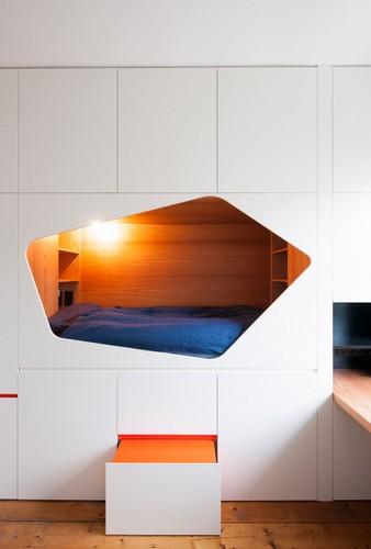 Rediseño ingenioso de habitaciones y restaurauración completa de apartamento  (14)