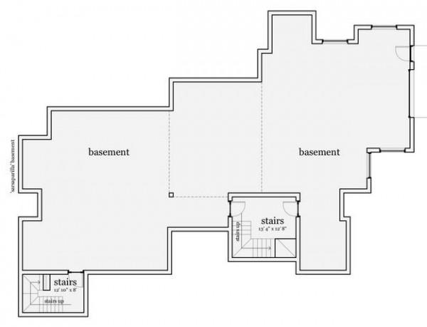 El plano de la terraza