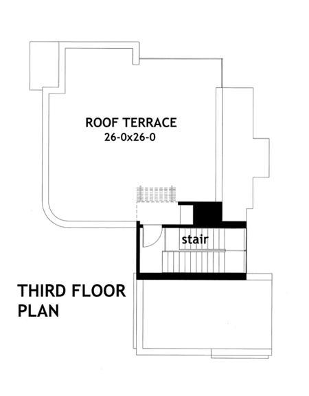 Este es el plano de la terraza