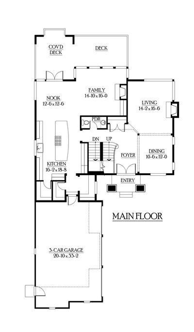 Planos del segundo piso