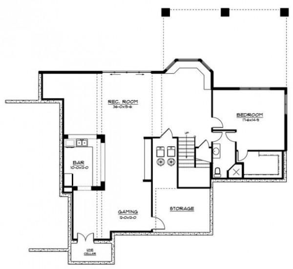 tercer planos de la construcción de la  casa