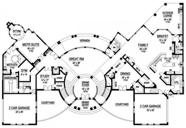 Primer plano del casa