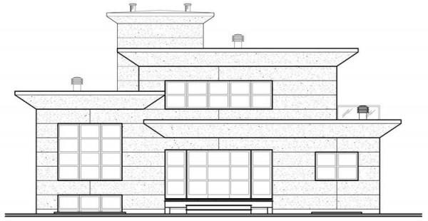 plano en dibujo de la casa