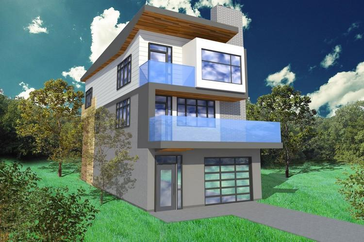 Casa estilo contemporaneo-moderno de 159m2