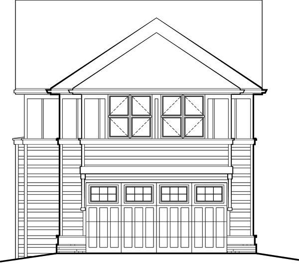 fachada frontal de la casa