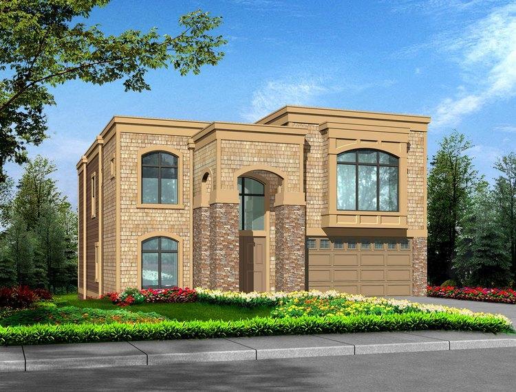 Planos de casa estilo contemporáneo de 433 m2