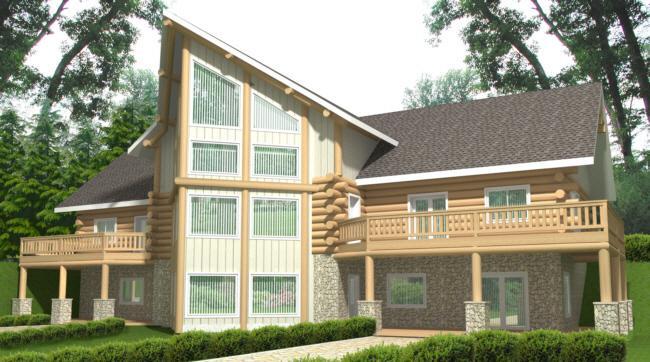 Planos de casa estilo contemporáneo moderno de 427 metros cuadrados