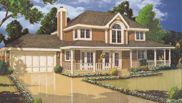 Una hermosa residencia amplia