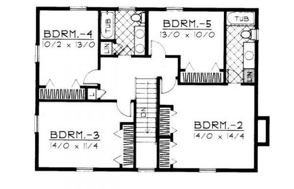 Segundo plano de la vivienda