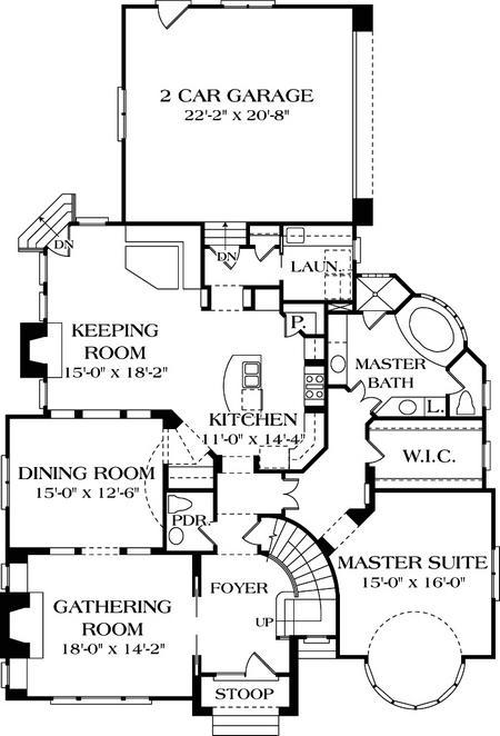 Primerplano de la casa