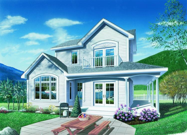 Planos de casa estilo country de 115 metros cuadrados