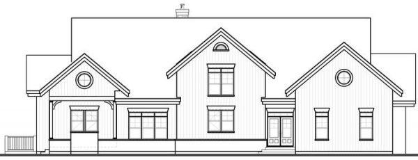 Diseño de la fachada a lápiz