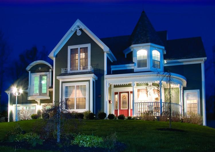 Planos de casa estilo country de 240 metros cuadrados