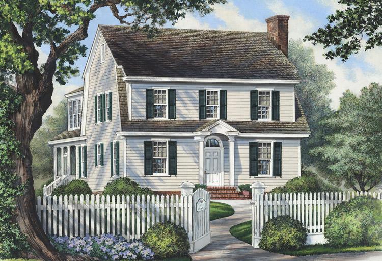 Planos de casa estilo country de 150 metros cuadrados