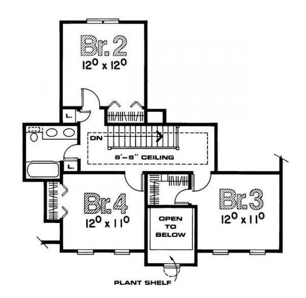 Segundo plano de la casa estilo country