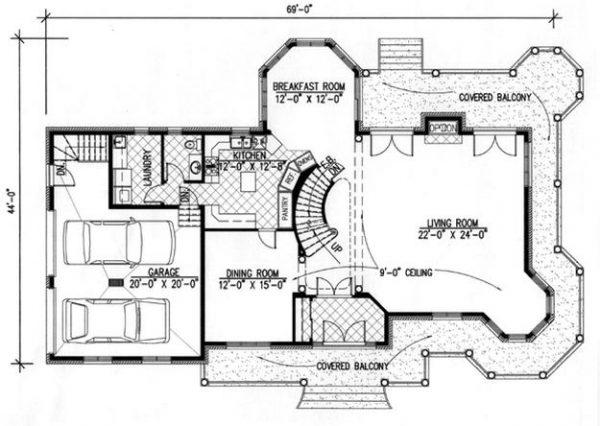 Primer plano de la vivienda