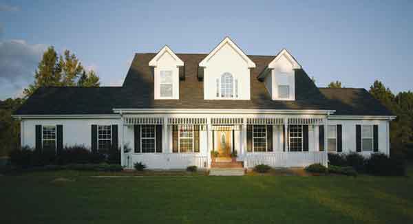 Planos de casa estilo country de 251 metros cuadrados