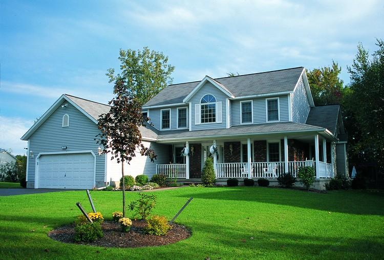 Planos de casa estilo country de 211 metros cuadrados