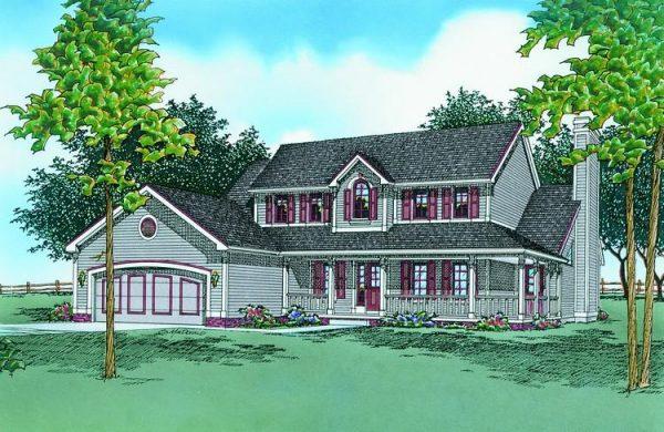 Dibujo de la entrada de la casa