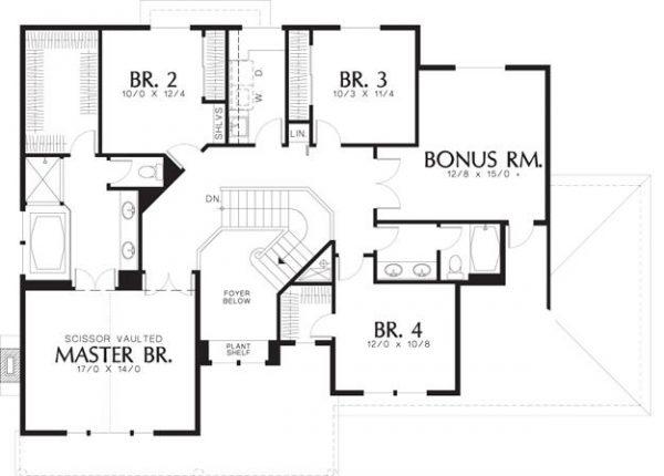 Segundo plano de la casa parte superior
