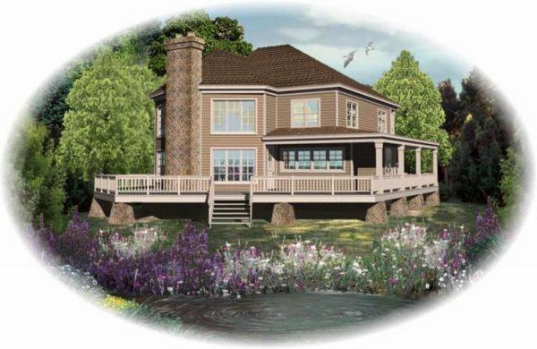 Diseño moderno de casa ideal para vivir