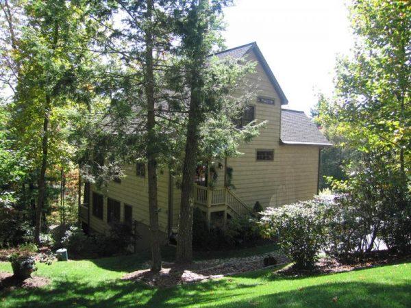 Diseño original de la casa