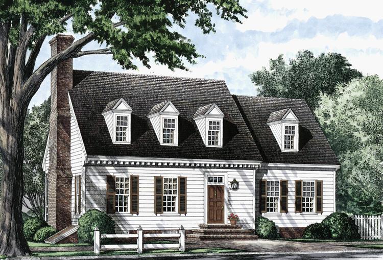Planos de casa estilo country de 231 metros cuadrados