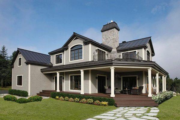 Casa moderna con estilo único