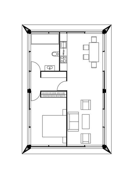 Pequena Casa Ampliada Con Metodos Prefabricados Les Ensenamos Su - Planos-de-casas-pequeas
