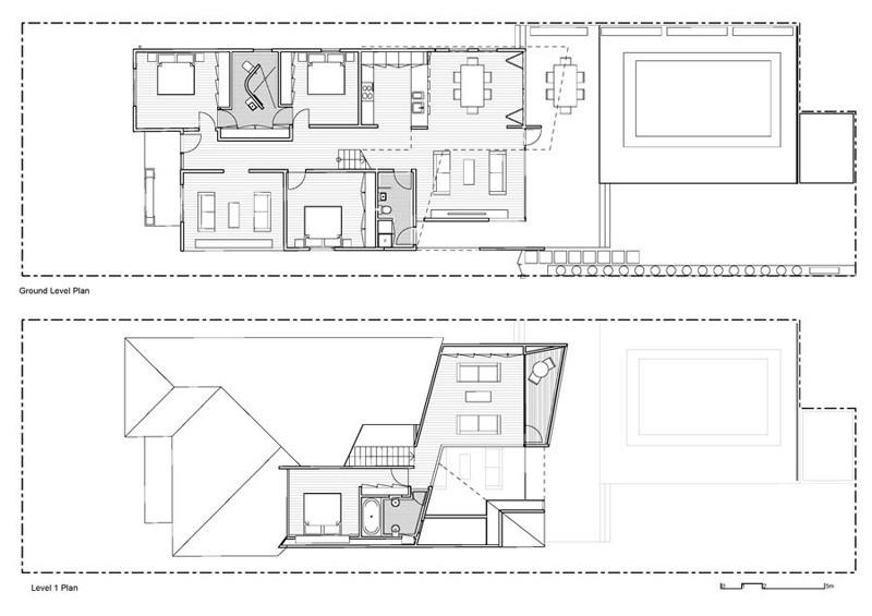 Casa Híbrida mostramos como mediante una renovación se convierte en una moderna vivienda de dos pisos 4