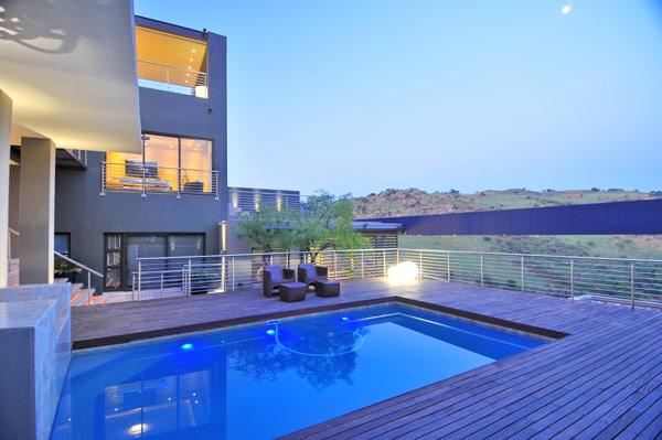 Luxurious residencia en Johannesburg, Sudáfrica: Un proyecto muy amplio y ambicioso